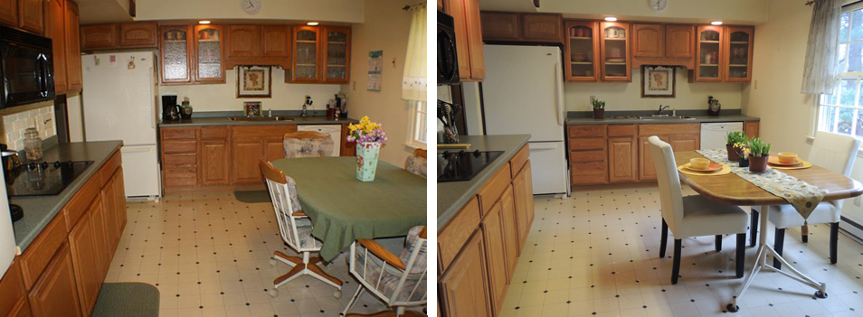 Before And After Home Staging Claudia Jacobs Designs