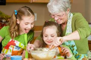 "Every year the author honors her grandmother's memory by using her dishes and silverware set for the holidays. ""Food is love, and it doesn't matter if you have a simple kitchen like my grandma or a fancy one,"" says Claudia Jacobs. ""What matters is that you plant a seed."" SHUTTERSTOCK PHOTOS"