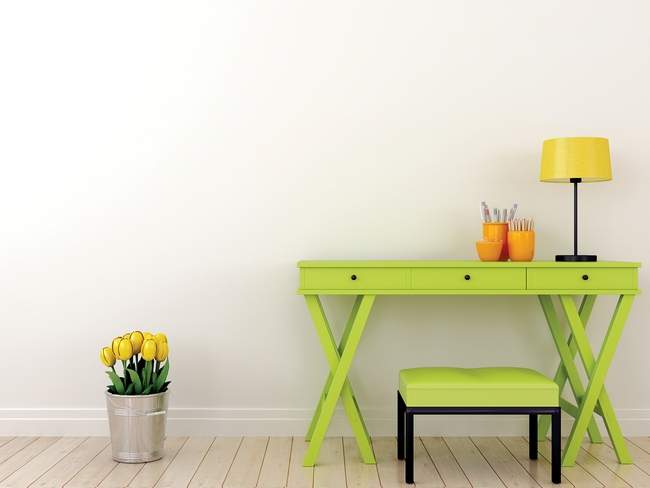 Keep your favorite color as an accent in your home and off your walls. METRO CREATIVE GRAPHICS