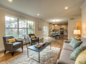 Look for inspiration then style your home to create a space you'll love to live in. Staging of 35 Hasbrouck Ave, Cornwall, NY. Photo credit: Steve Belner of Photovisions