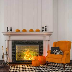 orange-chair-pumpkin-mantle