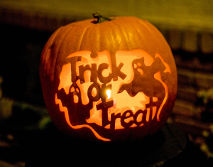 Halloween tricks and treats to make improvements in your home and life.  Photo Credit: Metro Creative Connections