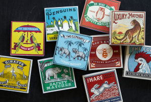 Cool match boxes